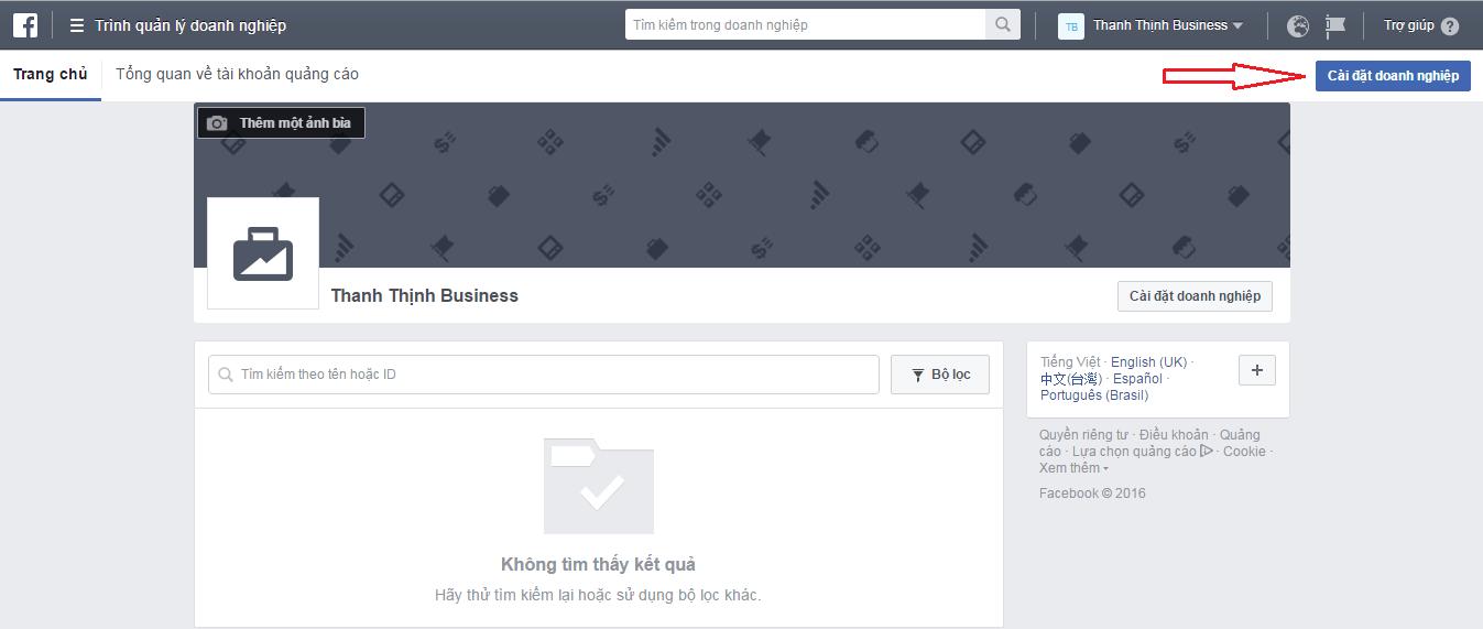cach tao tai khoan quang cao tren facebook 5 - Facebook Audience Insights là gì ? Cách sử dụng để phân tích đối tượng khách hàng 2019