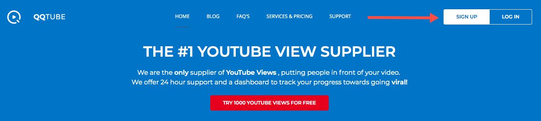 Cách mua view Youtube an toàn với QQTube