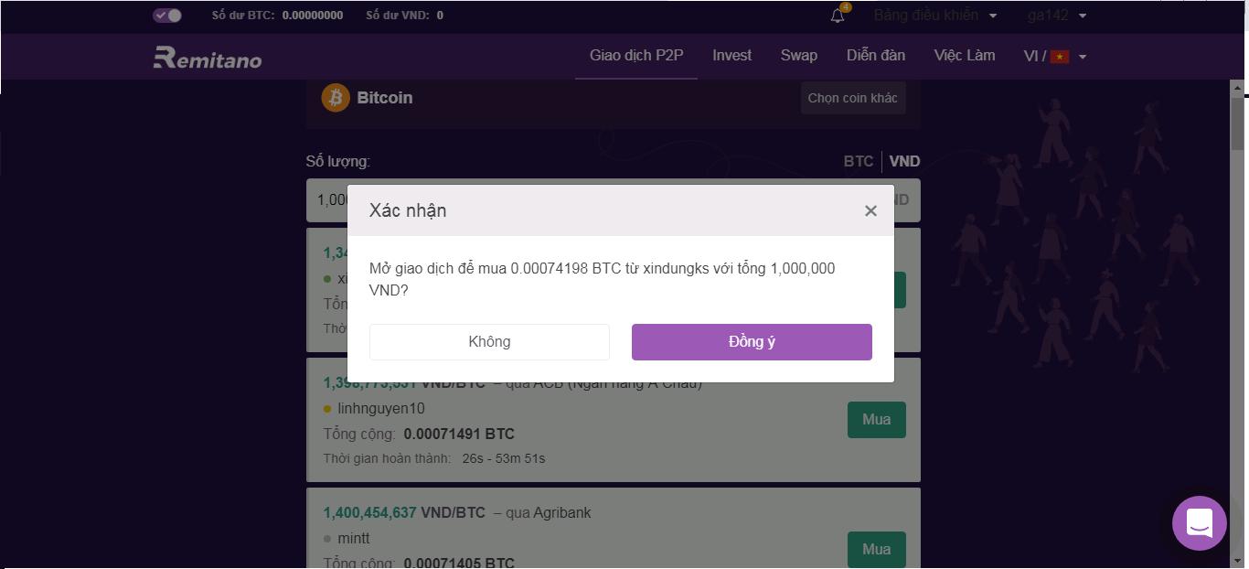 mua-bitcoin-bang-vietnam-dong-tren-remitano-9
